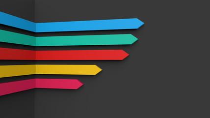 Arrows concept