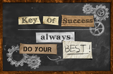 Do Your Best - Key Of Success