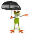 Frog gardener