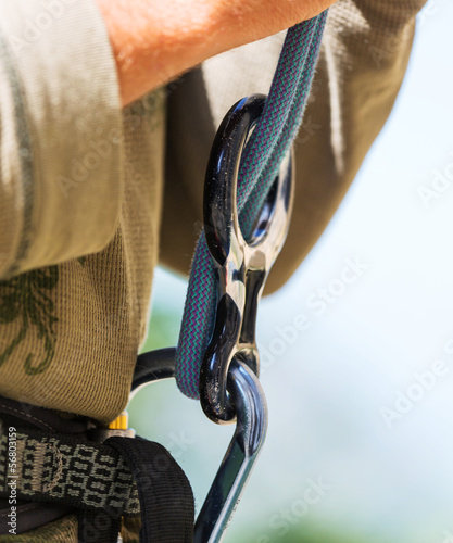 canvas print picture Climbing equipment