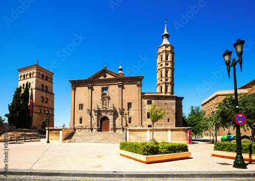 Church of San Juan de los Panetes and Zuda Tower