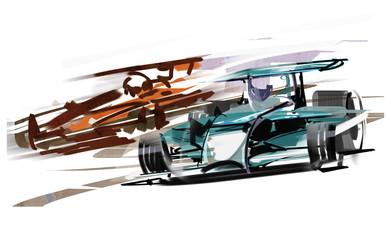 F1-car