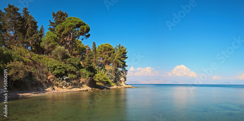 Fototapeten,blau,landschaft,griechenland,korfu