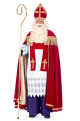 Portrait of Sinterklaas