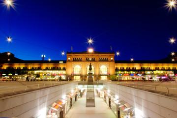 Hannover Hauptbahnhof at Night