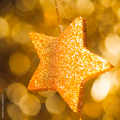abstract festive star background