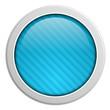 Button rund Streifen blau