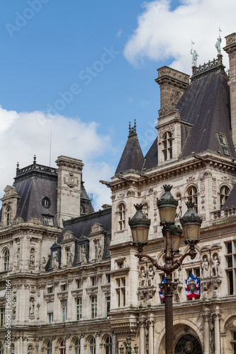 Historic building in Paris France