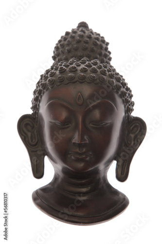 Buddha face statue Poster