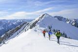 Fototapety Winterwandern in den Allgäuer Alpen