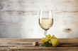 Glass of white wine - 56810916