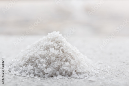 Fotobehang Kruiderij Heap of salt