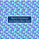 Merry Christmas card pattern