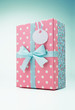 Polka dot gift box