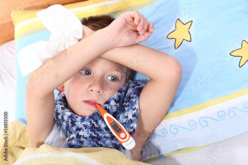 Kind ist Krank