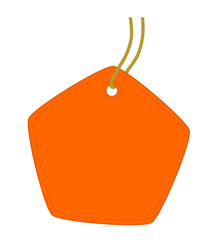 Pentagon orange tag.