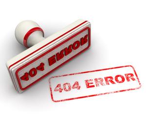 Печать и оттиск. 404 ERROR