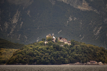 Chateau am Lac du Bourget