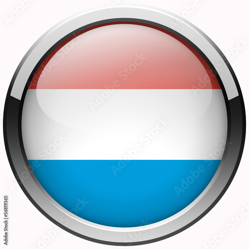 luxembourg official flag gel metal button