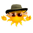 Sun is in Australia
