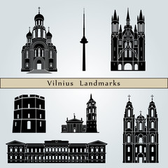 Vilnius landmarks and monuments