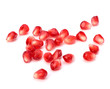 Ripe pomegranate seeds