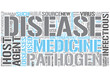 Infectious disease Word Cloud Concept