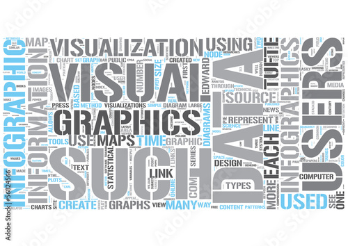 Infographics Word Cloud Concept