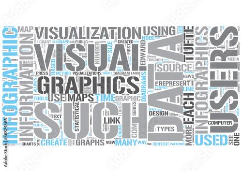 Infographics Word Cloud Concept