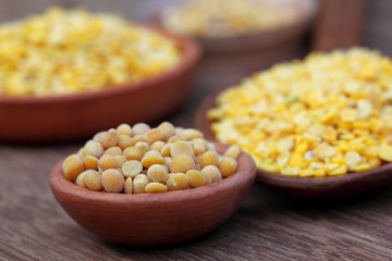 Pigeon pea with other pulses
