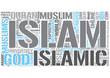 Islam Word Cloud Concept