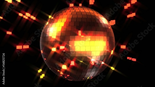 Mirror ball loop - Let's dance!
