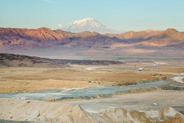 View of Ararat mountain