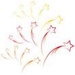 Sternschnuppe - Weihnachtsstern - Feuerwerk