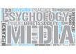 Media psychology Word Cloud Concept