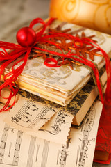 gift wrapped books for Christmas