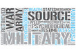 Military psychology Word Cloud Concept