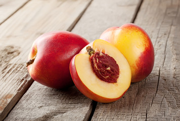 Two and half nectarine