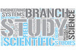 Outline of natural science Word Cloud Concept