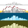 3d Business Cityscape
