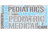 Pediatrics Word Cloud Concept