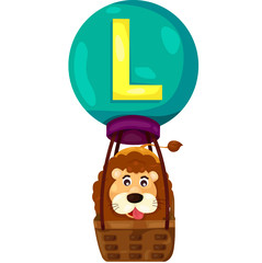 alphabet L for Lion