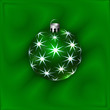 Vector Illustration of Christmas Decoration Ball
