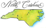 North Carolina map - 56836302