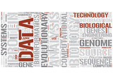 Bioinformatics Word Cloud Concept