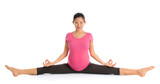 Pregnancy yoga meditation