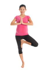 Pregnant yoga