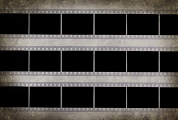 film strip vintage background