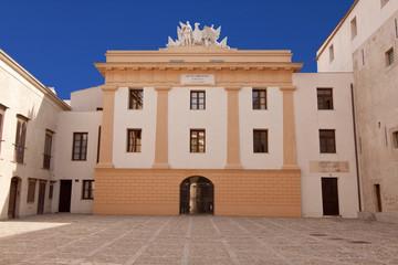 Palazzo Steri courtyard