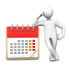 Manikin Calendar
